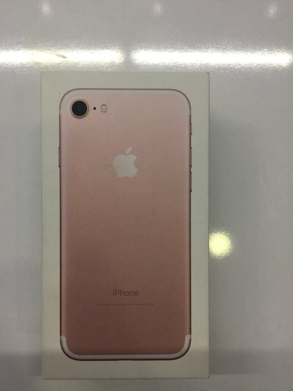iPhone 7 Rose Gold 32gb 3