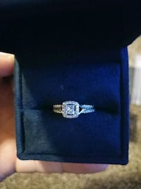 Gold Disney Enchanted engagement ring in box with  Salisbury