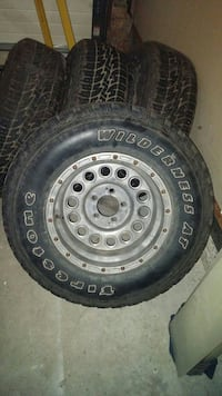 """235/75/15"""" rims and tires"""