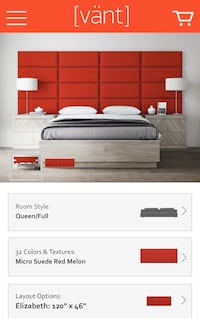 Vant Panels in Red Melon