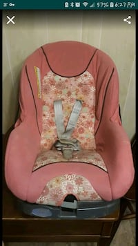 pink and white floral print car seat carrier Newport News, 23606