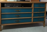 Vintage dresser upcycled to a tv stand  2347 mi