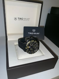 Tag Heuer Watch - F1 Chronograph Rubber Strap (worn once) Toronto, M9M 0E8