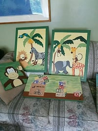 Canvas paintings for child's room Haverhill, 01832