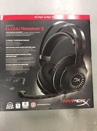 HyperX Cloud Revolver S Gaming Headset - BRAND NEW Mississauga, L5J 1J7
