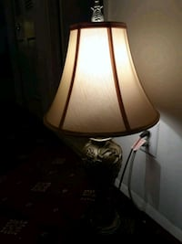 brown and white table lamp Annandale