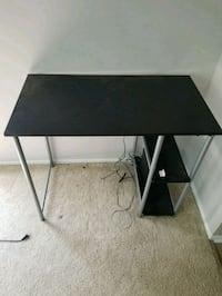 black and gray computer desk Arlington, 22202