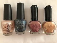 Used nail polish, all for $20.  Wed & Thur can meet at St.George and Yonge  Markham