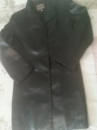 black button-up coat Kitchener, N2E 3W6