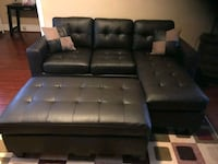 Brand New Espresso Bonded Leather Sectional Sofa  Silver Spring, 20902