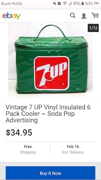7up lunch pail. Mansfield, 44906