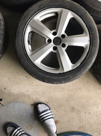 Audi 5x112 17 inch rims with all season tires Mississauga, L5L 5W2
