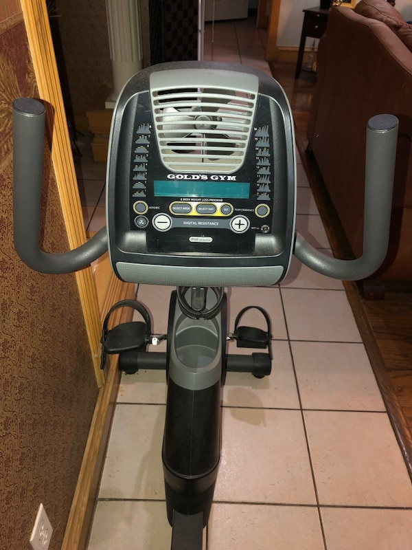 Golds gym Indoor exercise equipment