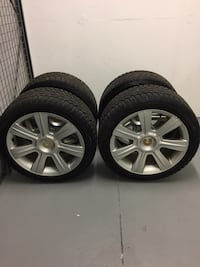 BMW 225/45/17 winter tires and rims Toronto, M4Y 2H6
