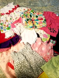 15 piece lot baby girls clothes 9/12 month lot  Blountville, 37617