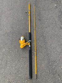 Shakespeare Fishing Reel and Rod Combo