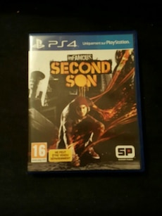 Étui de jeu PS4 inFamous Second Son