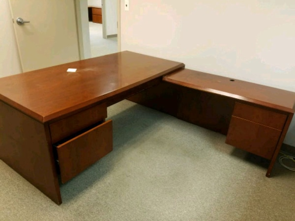 Cool Cherry L Shape Office Desk Download Free Architecture Designs Scobabritishbridgeorg