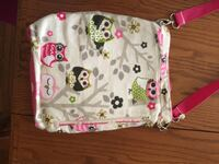 Owls print conceal and carry purse new Claflin, 67525
