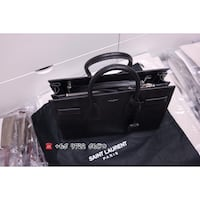Saint Laurent Classic Sac De Jour Lizard Embossed Black  [TL_HIDDEN] 0 Hougang