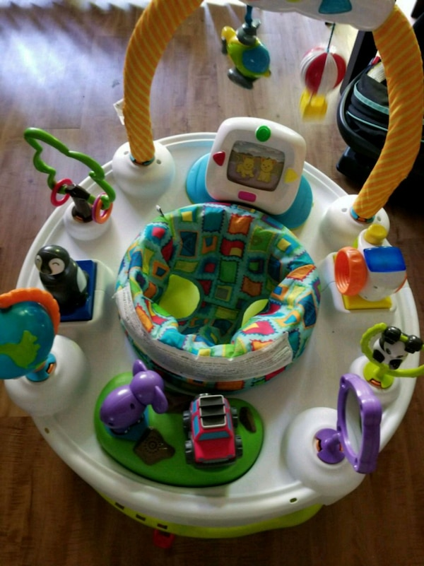 ef39622e7021 Used Evenflo exersaucer baby activity center for sale in Dallas - letgo