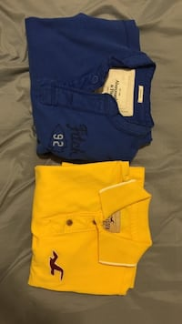 Abercrombie and fitch and hollister polo shirts Calgary, T2T 0L3