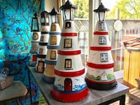 Lighthouses, furniture Hand Painted various prices