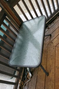 Small outdoor patio table