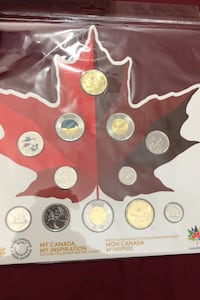 2017 my Canada my inspiration coin set