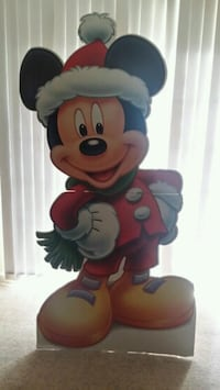 Mickey Mouse Christmas Cardboard Cutout Germantown, 20876