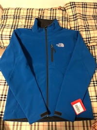 (SMALL) Blue North Face Jacket