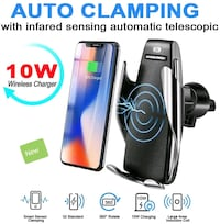 Automatic Clamping Wireless Car Charger $35 Mississauga, L5W 0E7