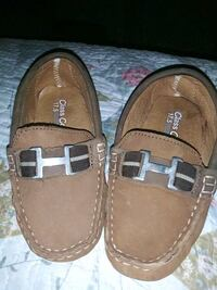pair of brown leather loafers Austin, 78744