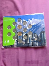 Vancouver 2010 Winter Olympic coin set Bedford, B4A 4E9