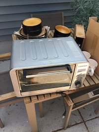 Toaster oven with extras!