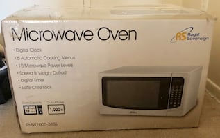 Brand New!  Royal Sovereign Microwave Oven
