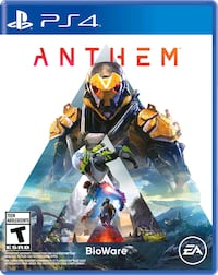 Anthem for PS4 Mint Toronto, M6R 1H9
