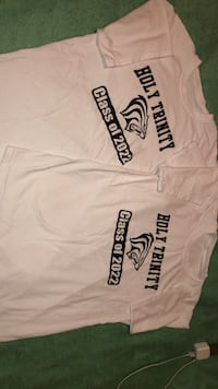 Holy trinity class of 2022 shirts one medium and one large  Newmarket