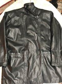 Double breasted leather jacket  Longueuil, J4V 3J8