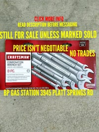 New Standard Craftsman combination wrench  West Columbia, 29169