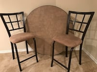 Table with 4 bar stool chairs Cheverly, 20785
