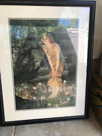 Fairy picture w black frame Campbell