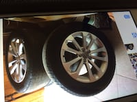 Audi Q5 wheels and tires with sensors they came off 2014  Miami, 33196