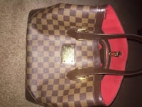 Louis Vuitton Damier Ebene Canvas Hampstead MM Tote