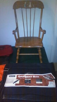 black and brown wooden rocking chair Poughkeepsie, 12601