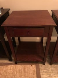Set of 2 Wooden Nightstands Washington, 20005
