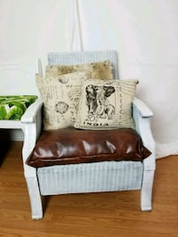 2 refinished shabby chic chairs  Del Mar, 92014