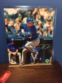 Josh Donaldson signed 8x10 Photo with coa  Guelph, N1E