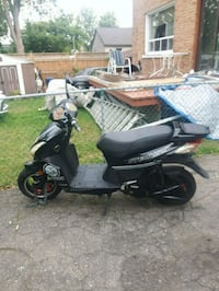 black and gray motor scooter Mississauga, L5E 2C6