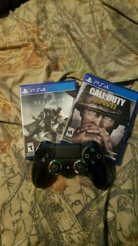 Ps4 controller and 2 games Inman, 29349